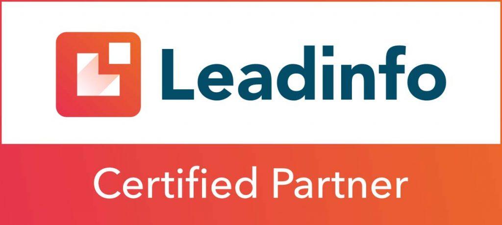 Partner badge lead info